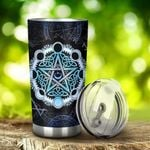 Celtic – Pentagram Moon Wicca Stainless Steel Tumbler Cup | Travel Mug | Colorful - Tumbler 20oz