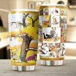 Calvin and Hobbes Stainless Steel Tumbler Cup | Travel Mug | Colorful - Tumbler 20oz
