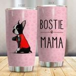 Bostie Mama Stainless Steel Tumbler Cup | Travel Mug | Colorful - Tumbler 20oz