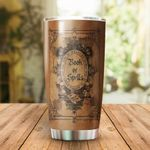 Book Of Spells Stainless Steel Tumbler Cup | Travel Mug | Colorful - Tumbler 20oz