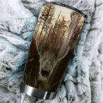 Beautiful Bear Steel Tumbler Cup | Travel Mug | Colorful - Tumbler 20oz
