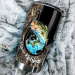 Bass Fishing Stainless Steel Tumbler Cup | Travel Mug | Colorful - Tumbler 20oz