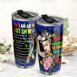 Autism Mom Stainless Steel Tumbler Cup | Travel Mug | Colorful - Tumbler 20oz