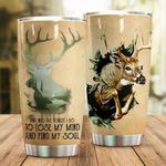 And Into The Forest I Go To Lose My Mind And Find My Soul Stainless Steel Tumbler Cup | Travel Mug | Colorful - Tumbler 20oz