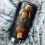 Tumbler cup pooh bear present and past - Tumbler 20oz