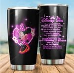 Tumbler cup I am a Disney girl Minnie mouse - Tumbler 20oz