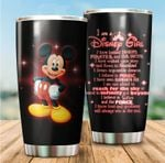 Tumbler cup I am a Disney girl Mickey mouse - Tumbler 20oz