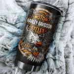 Tumbler cup harley davidson eagle - Tumbler 20oz