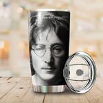Tumbler cup John Lennon signature - Tumbler 20oz