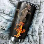 Tumbler cup tigger present and past II - Tumbler 20oz