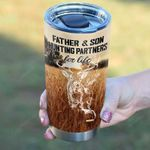 Father And Son Hunting Partners For Life Tumbler Cup, Deer,  20 Oz Tumbler Cup For Coffee/Tea Stainless Tumbler Cup For Father's Day Thanksgiving Birthday Perfect Gift For Hunter