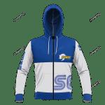 Sega Sonic Unisex 3D All Over Print Hoodie, Zip-up Hoodie