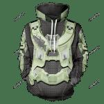 Halo Spartan Unisex Pullover Hoodie 3D All Over Print Hoodie, Zip-Up Hoodie