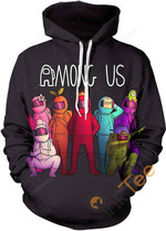 Among Us Sports Street Casual Teen Pullover Unisex 3D All Over Print Hoodie, Zip-up Hoodie