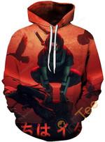Cosplay Naruto Print 3D All Over Print Hoodie, Zip-up Hoodie