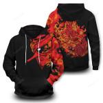 Itachi Uchiha Susanoo Unisex Pullover Hoodie 3D All Over Print Hoodie, Zip-Up Hoodie