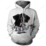 Elevador Unisex 3D All Over Print Hoodie, Zip-up Hoodie