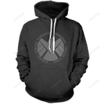 Shield Unisex 3D All Over Print Hoodie, Zip-up Hoodie