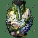 Shenron Unisex Pullover Hoodie 3D All Over Print Hoodie, Zip-Up Hoodie