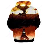 Movie Armour Titan Hoodie- Attack On Titan 3d All Over Print Hoodie, Zip-Up Hoodie