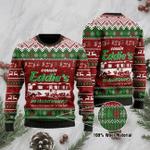 Cousin Eddie's Ugly Christmas Sweater, All Over Print Sweatshirt
