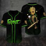 Guardians Of The Galaxy Groot Baseball Tee Jersey Shirt