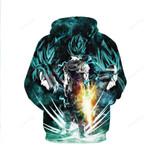 Movie Dragon Ball Z Hoodie - Vegito Ssj God 3d All Over Print Hoodie, Zip-Up Hoodie