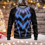 Superhero Ugly Christmas Sweater, All Over Print Sweatshirt