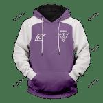 Hyuga Clan Unisex Pullover Hoodie 3D All Over Print Hoodie, Zip-Up Hoodie