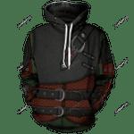 Hiccup Viking Unisex Pullover Hoodie 3D All Over Print Hoodie, Zip-Up Hoodie