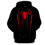 Red Spider 3D All Over Print Hoodie, Zip-up Hoodie