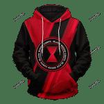 Black Widow Corps Unisex Pullover Hoodie 3D All Over Print Hoodie, Zip-Up Hoodie