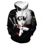 Anime Naruto Sasuke kakashi Men Women 3D All Over Print Hoodie, Zip-up Hoodie