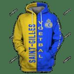 Union Saint-Gilloise Unisex 3D All Over Print Hoodie, Zip-up Hoodie