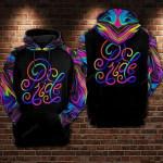 Pride Text LGBT 3D All Over Print Hoodie, Zip-up Hoodie