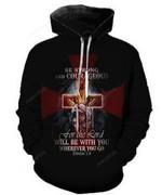 Knights Templar 3D All Over Print Hoodie, Zip-up Hoodie