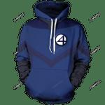 F4 Unisex Pullover Hoodie 3D All Over Print Hoodie, Zip-Up Hoodie