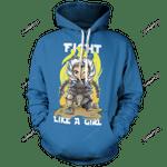 Ahsoka Unisex Pullover Hoodie 3D All Over Print Hoodie, Zip-Up Hoodie