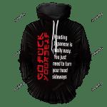 Learn Japanese Unisex Pullover Hoodie 3D All Over Print Hoodie, Zip-Up Hoodie