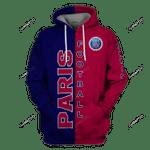 Paris FC  3D All Over Print Hoodie, Zip-up Hoodie