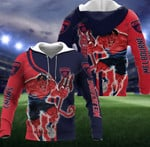 Sports Melbourne Football Club Mascot 3D All Over Print Hoodie, Zip-up Hoodie