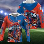 Newcastle Knights Mascot 3D All Over Print Hoodie, Zip-up Hoodie