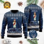 Jesus Ugly Christmas Sweater, All Over Print Sweatshirt
