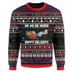 Happy Holigays Ugly Christmas Sweater, All Over Print Sweatshirt