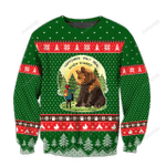 Go Camping Play With Bear Ugly Christmas Sweater, All Over Print Sweatshirt
