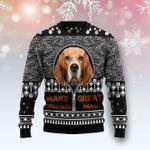 Beagle Make Great Again  Ugly Christmas Sweater, All Over Print Sweatshirt