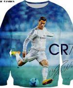Ronaldo Celebrities All Over Print Sweatshirt