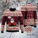 Namaste Ugly Christmas Sweater, All Over Print Sweatshirt