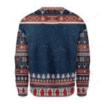 Firefighter Presents Ugly Christmas Sweater, All Over Print Sweatshirt