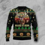 Make It Rein  Ugly Christmas Sweater, All Over Print Sweatshirt